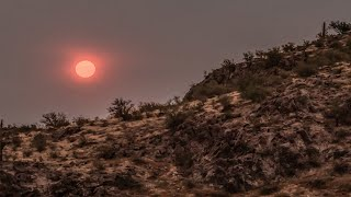 Sun And Moon Turned Blood Red In U.S.