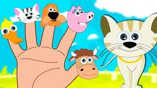 Bauernhoftiere Finger Familie | Tiere Lied | Kinderlieder in Deutsch