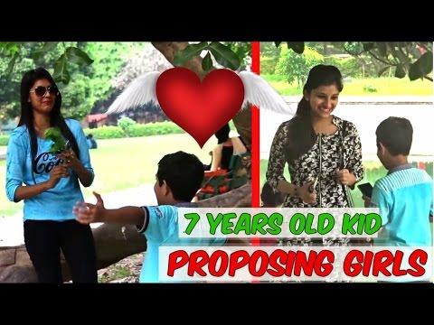 7 years old Kid Picking Up hot Girls    PrankYard ft. PrankManians    Prank 2017