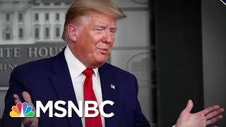 Trump Blasts States And Fights With Media As Coronavirus Deaths Soar   The 11th Hour   MSNBC