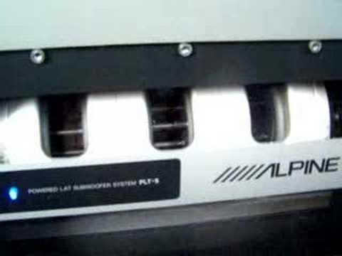 Tymphany LAT 250 linear transducer test - смотреть онлайн на