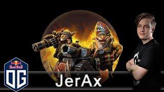 OG.JerAx Techies Gameplay - Ranked Match - OG Dota 2.