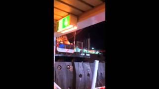 preview picture of video 'Villa San Giovanni. Difficile attracco del catamarano Metromare'