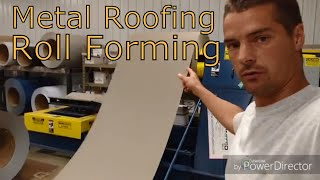 How is metal siding made
