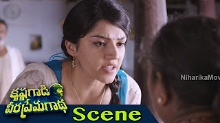 Mehreen Pirzada Glamorous Intro Scene - Krishna Gaadi