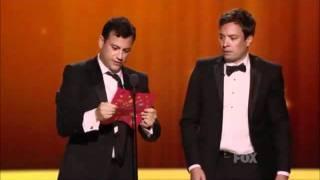 Jimmy Fallon`s Funny Message To Jimmy Kimmel.wmv