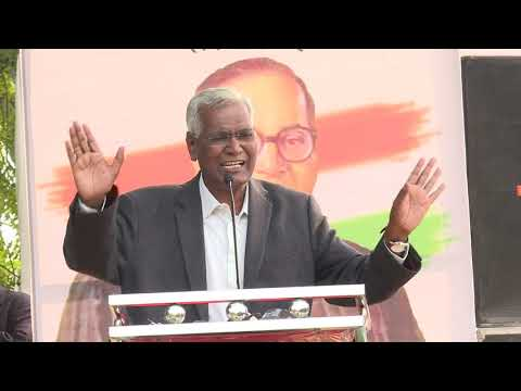 D Raja Addresses at the Movement Save The Indian Democracy
