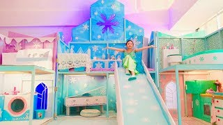 Bug New Princess Frozen Bedroom !