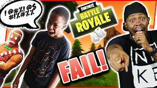 TRENT HAS A POTTY MOUTH!! - THE MATCHES YOU DON'T SEE! - EP.6 | Fortnite Fail Compilation