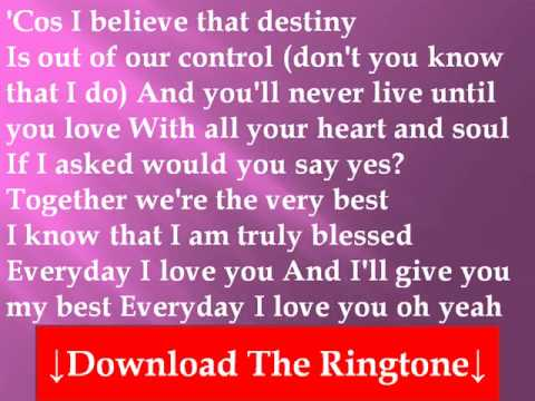 I love you truly song