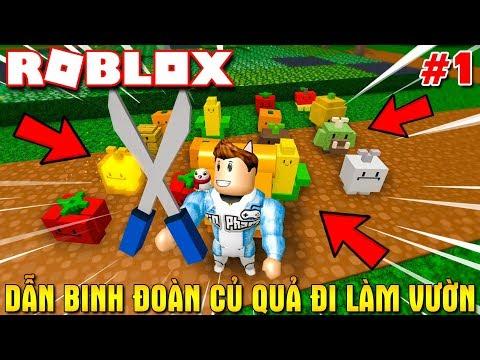 Roblox | KIA DẪN BÌNH ĐOÀN CỦ QUẢ ĐI LÀM VƯỜN - Gardening Simulator | KiA Phạm