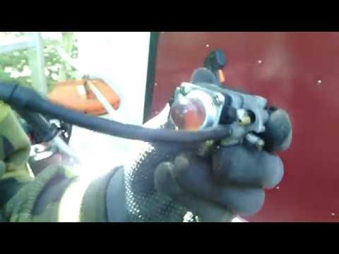 Китайская мотокоса ремонт карбюратора