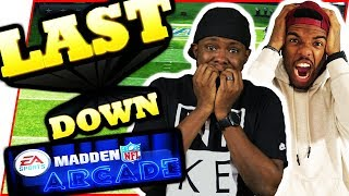 NAIL BITTER! IT ALL COMES DOWN TO THIS!! - Madden Arcade Gameplay | #ThrowbackThursday