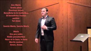 Ave Maria (Bach) by Jonathan Pauley