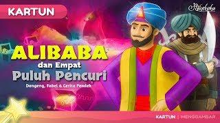 Alibaba dan Empat Puluh Pencuri - Kartun Anak Cerita2 Dongeng Bahasa Indonesia - Cerita Anak Anak