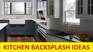 Best kitchen backsplash design ideas | Modern, white, granite, glass, wood, tile design 2021-2022