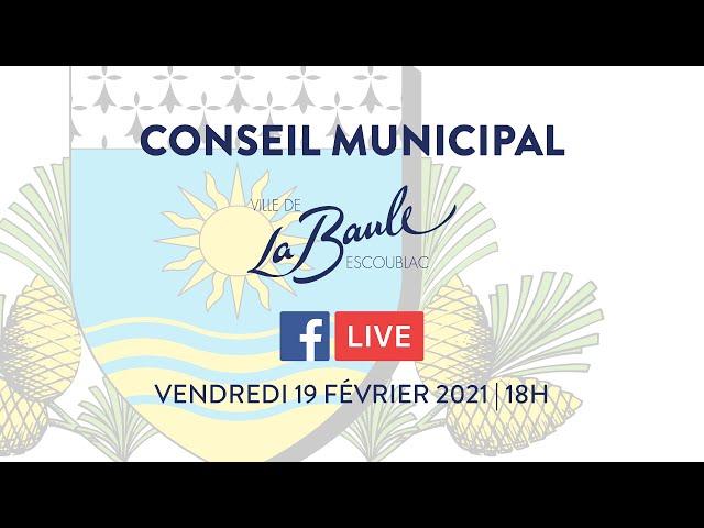 Conseil municipal du 19 février 2021 [visio-conférence]