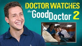 Real Doctor Reacts to THE GOOD DOCTOR #2 | Medical Drama Review | Doctor Mike