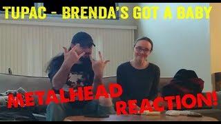 Brenda's Got A Baby - Tupac (REACTION! by metalheads)