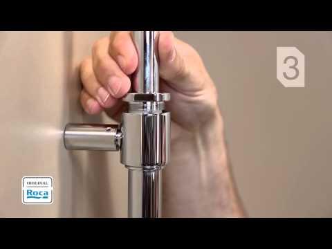 Victoria Shower Column - Installation | Roca