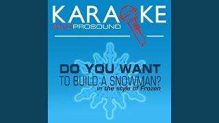 Do You Want to Build a Snowman? (Karaoke Lead Vocal Demo)