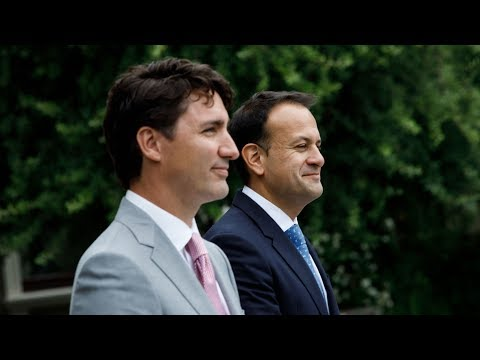 Prime Minister Trudeau and Taoiseach Varadkar of Ireland deliver joint remarks