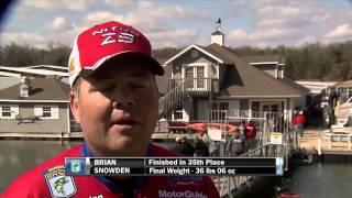 2014 A.R.E. Truck Caps Bassmaster Elite At Table Rock Lake