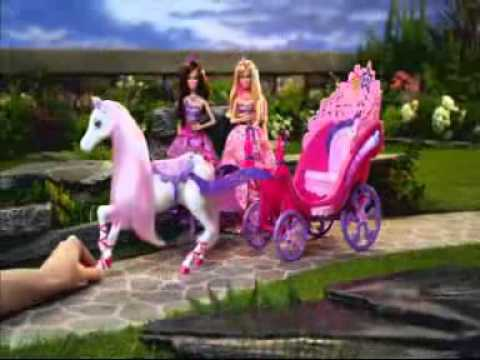 Barbie die Prinzessin und der Popstar Werbung Deutsch Pferd und Kutsche