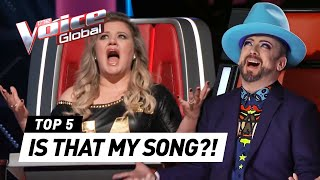 The Voice | Talents who auditioned with a COACH SONG