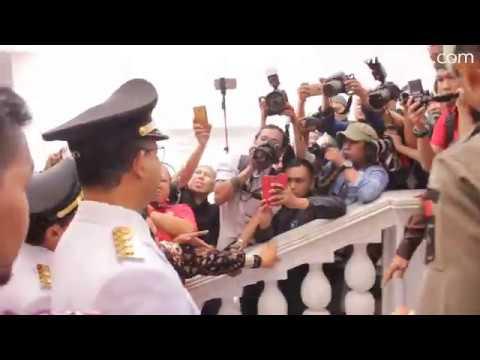 Kemeriahan Menyambut Anies Sandi Sebagai Gubernur Baru Jakarta
