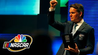 Jeff Gordon inducted into NASCAR Hall of Fame (Full Speech) | NASCAR | NBC Sports