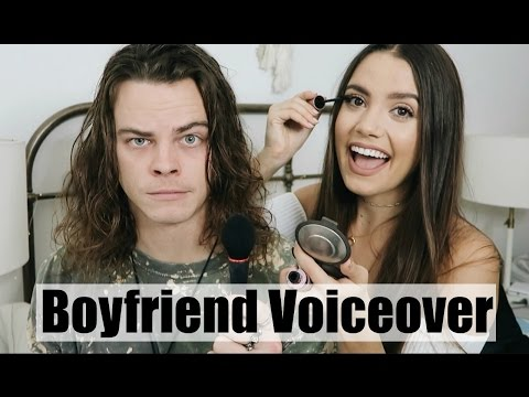BOYFRIEND DOES MY VOICEOVER | Everyday Makeup Routine