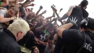 Power To The Peaceful - Anti-Flag, Amnesia Rockfest 21 June 2014 [HD]