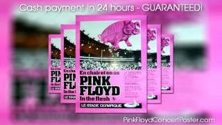 Pink Floyd Concert Posters