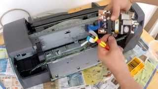Что можно сделать из старого принтера (Полезные запчасти)/Useful parts from old printer