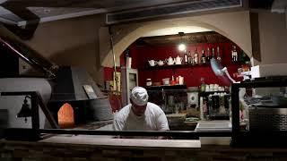 Pizza Bäcker von Sorrent