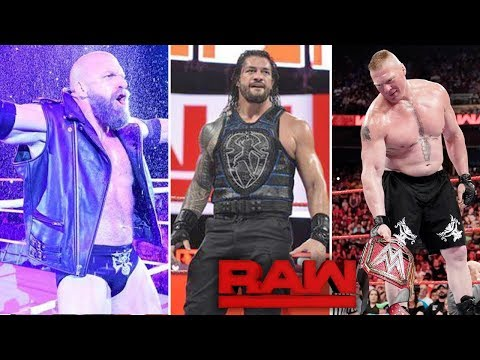 Triple H Match Announced! Roman PUSH OVER - WWE Raw Highlights 10 June 2019 Results Raw 06/10/19