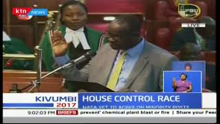 Justin Muturi retains position of speaker at the National Assembly