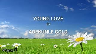 Adekunle Gold   Young Love (Lyrics)🎼