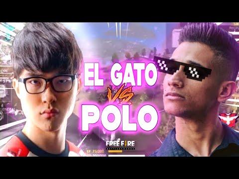 EL GATO vs O MELHOR JOGADOR da GRINGA! (El Gato, ThanhTran Polo)