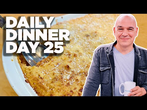 COOK ALONG WITH MICHAEL SYMON | HOLIDAY PASTA BAKE (PASTICCIO-ISH) | DAILY DINNER DAY 25