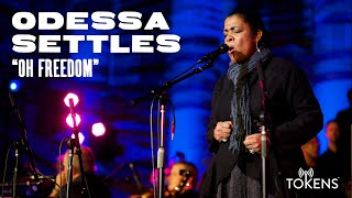 Tokens: Odessa Settles sings 'Oh Freedom'
