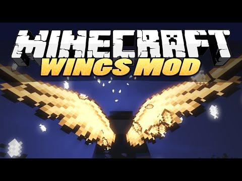 Minecraft Mods | WINGS (Angel, Devil, Butterfly) | Mod Showcase