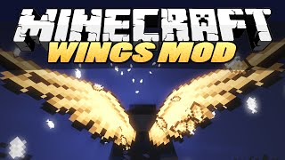 Minecraft Mods | WINGS (Angel, Devil, Butterfly) | Mod Showcase