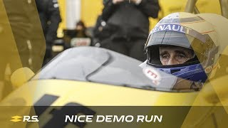 Demo Run in Nice with Alain Prost and Nico Hülkenberg