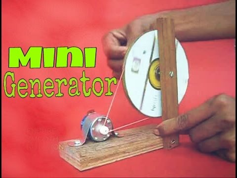 How to make mini generator at home  || Easy