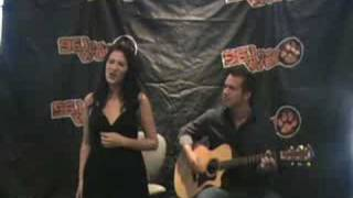 "Katie Armiger sings ""Jealousy"" live with 96.1 the Wolf"