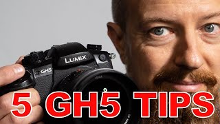 Gambar cover Five GH5 Tips You Need to Know! ▶︎ Secret Tricks For Easier Workflow