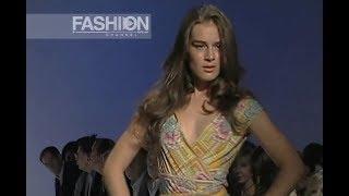 DIANE VON FURSTENBERG Spring Summer 2005 New York - Fashion Channel