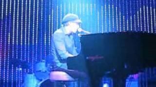Daniel Powter live in Paris 2008 'Next Plane Home'